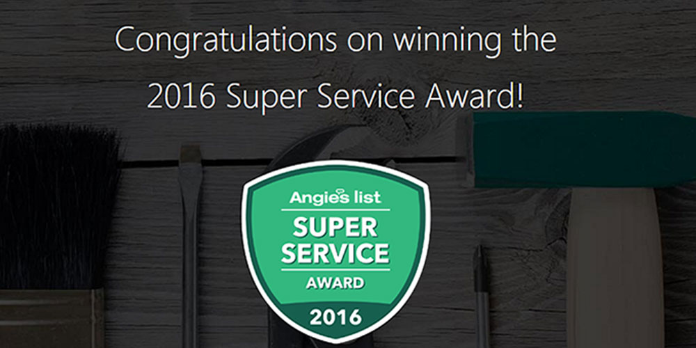 Winning Super Service Award From Angie's List | Roof4Roof